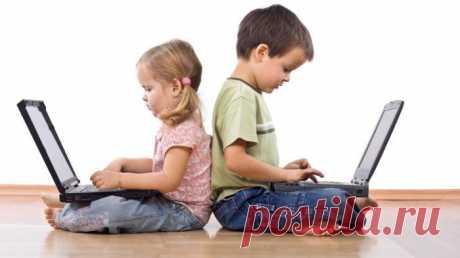 Дети в интернете. Компьютерые игры. Сегодня многие родители обеспокоены тем, что ребенок проводит достаточно много времени в интернете. Время, проведенное за компьютером не ограничивается