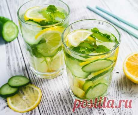 Топ-6 детокс-напитков, которые помогут очистить организм