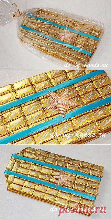 Свит-дизайн. Погон из конфет.