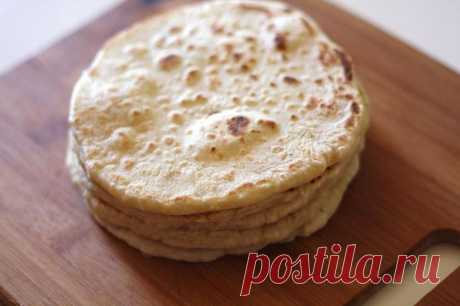 Roti - the Indian flat cakes. - Recipes with a photo. We prepare houses
