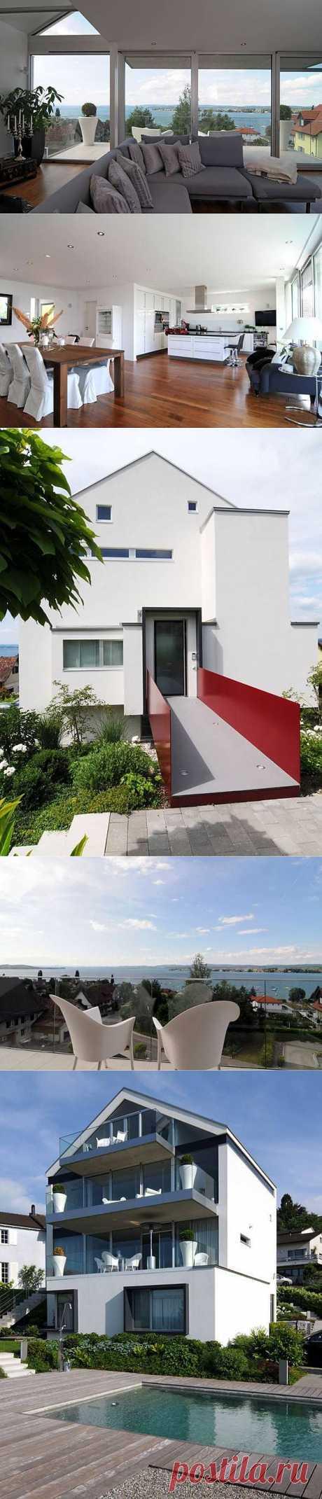 Супер дома: современный домик в Швейцарии