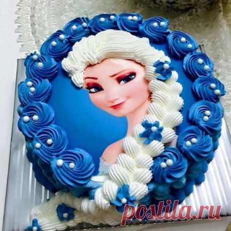 Такого торта ты еще не видела 😍 Наверное вкуснотищааааа 💙