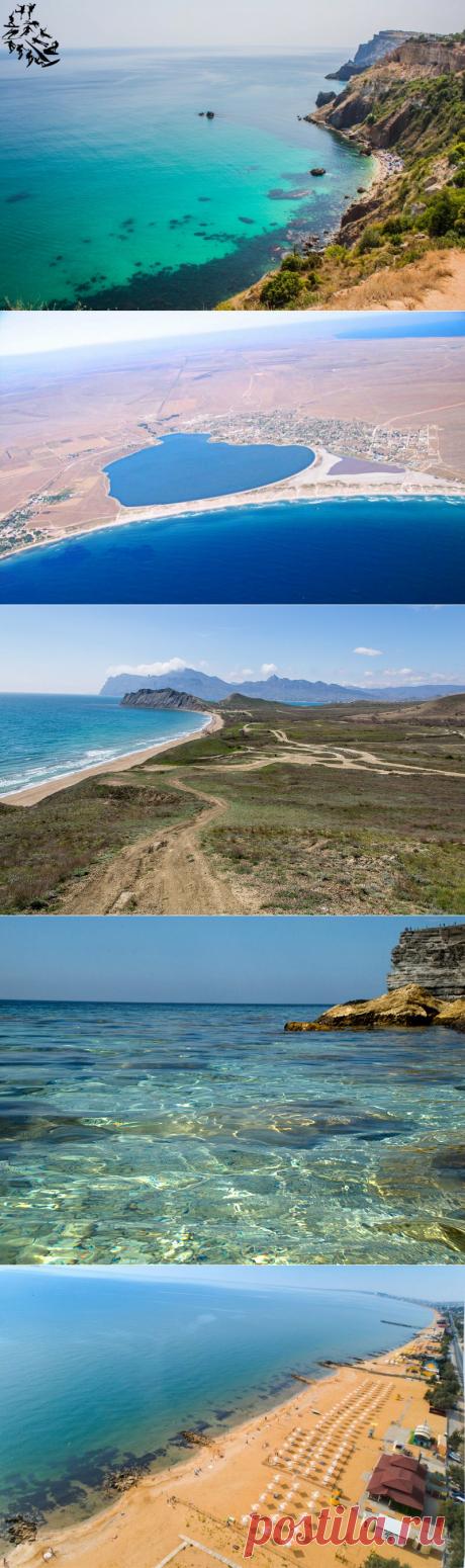 Пока граница закрыта. Лучшие пляжи крыма. Часть 1