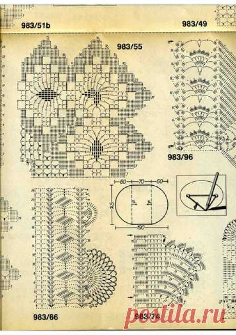 Burda special E983 1989 GEHÄKELTE SPITZEN — Яндекс.Диск