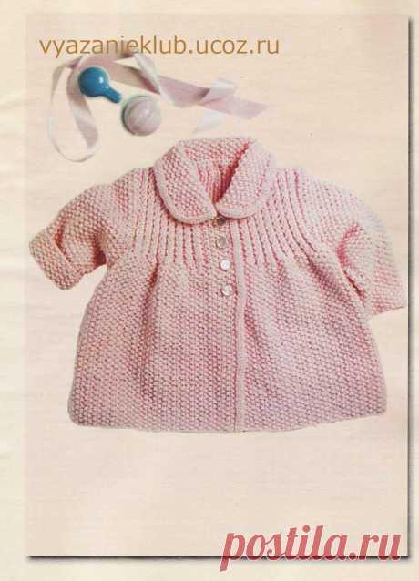 Пальто, куртки вязаные - Каталог файлов - Вязание для детей