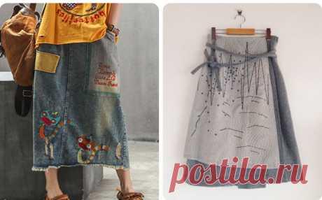 Бохо-шик на лето 2021: юбка своими руками, чудо-переделки(выкройки даю) | СТИЛЬ МОДА ТРЕНДЫ | Яндекс Дзен