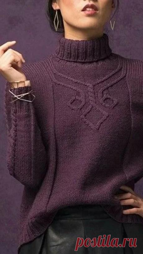 Учимся вязать в свитере проймы и горловину | Девник Агорафобика | Яндекс Дзен