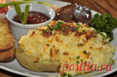 Печеный картофель на каждый день