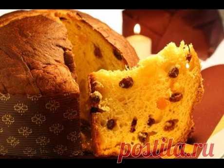 Панеттоне (Panettone). Итальянский пасхальный кулич.