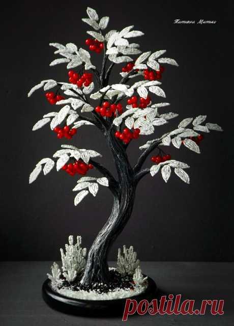 Шикарные деревья от Татьяны Митько для вашего вдохновения!