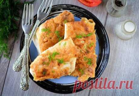Пирожки из лаваша с яично-сырной начинкой