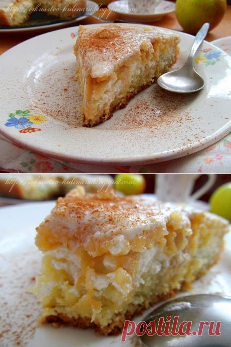 Постигая искусство кулинарии... : Яблочный пирог «Сказка»
