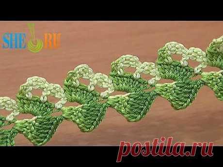 ▶ Вязание шнура Урок 19 Восхитительный асимметричный шнур - YouTube