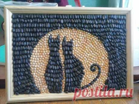 картина из семян тыквы своими руками: 11 тыс изображений найдено в Яндекс.Картинках