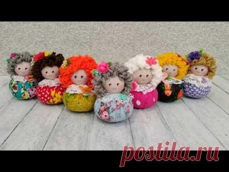 Кукла-саше с ароматом лаванды. Подарок на 8 марта своими руками -  Lavender sachet doll. DIY