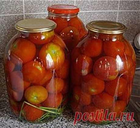 Рецепт маринованных помидор..
