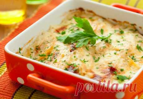 Chicken baked pudding in French