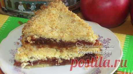 Быстрый пирог без яиц - рецепт пошаговый с фото