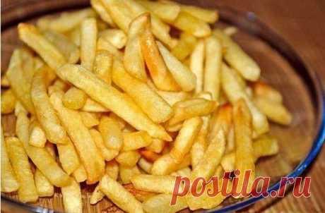 """Картофель """"Фри"""" из духовки — такую картошку можно смело давать даже детям!"""