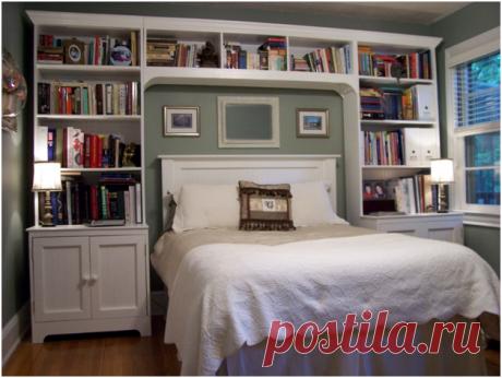 Оптимизируем пространство спальни. 12 идей