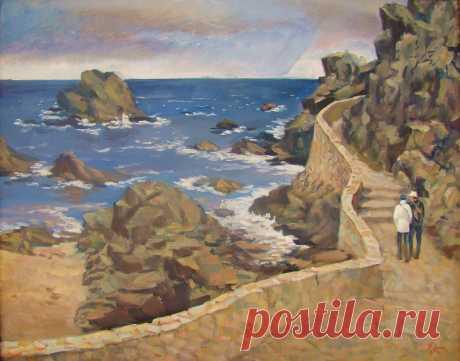 Скалы Ллорет де Мар. Испания