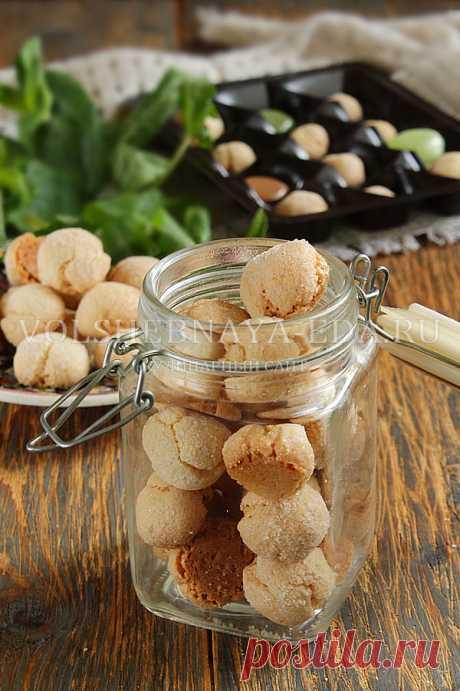 Печенье амаретти, рецепт с фото | Волшебная Eда.ру