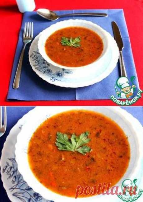 Суп-гуляш в мультиварке - кулинарный рецепт