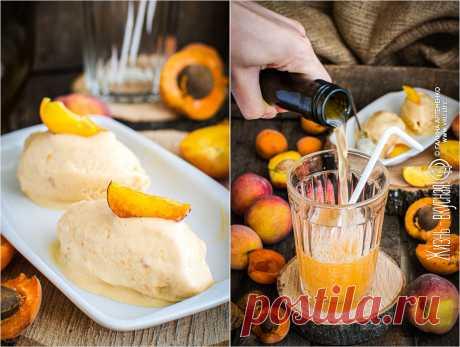 Персик и абрикос: 2 рецепта - мороженое и квас • Жизнь - вкусная! Кулинарный сайт Галины Артеменко Персик и абрикос - союз, который мне очень нравится. Тут и яркий абрикосовый цвет, аромат, и нежная персиковая нотка, напоминающая о легком девичьем парфюме