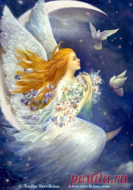 Обаяние Сказочных Грёз... Лаковая миниатюра Надежды Стрелкиной. - Cantinho da Maisa — LiveJournal