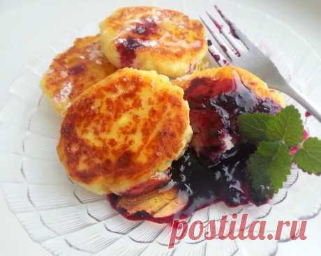 Манные оладьи — Sloosh – кулинарные рецепты