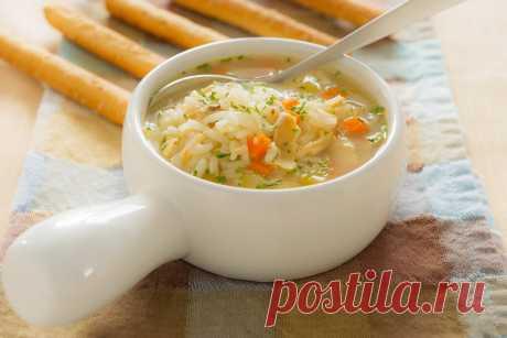 Суп с рисом рецепты приготовления