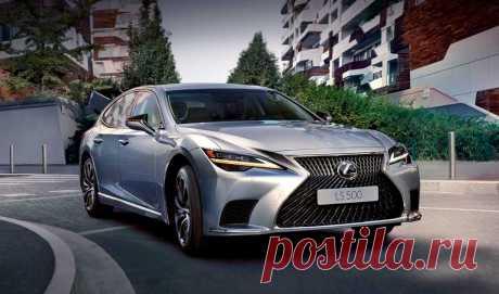 Обновленный Lexus LS: версии, салон, экстерьер