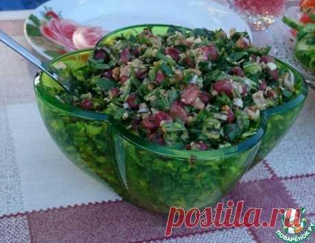 Салат к шашлыку – кулинарный рецепт