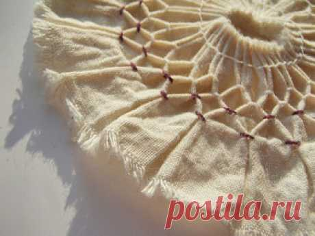 'Innocence' detail | textile art semester two, fabric manipu… | Flickr