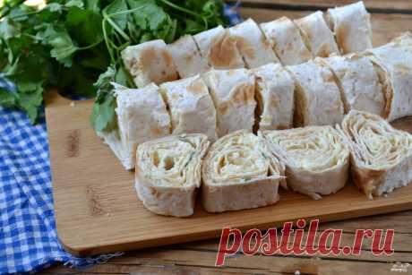 Роллы из лаваша - пошаговый рецепт с фото на Повар.ру