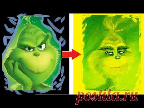 How To Draw The Grinch| IDraw for YOU❀❤❀
