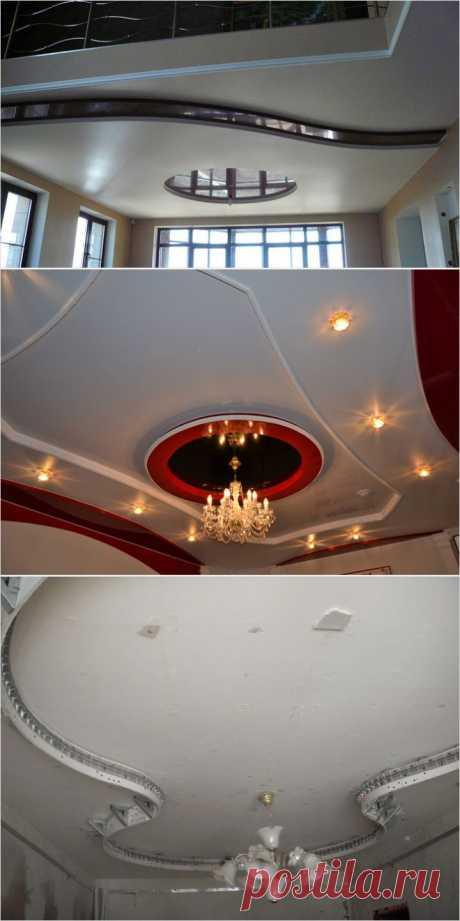 Двухуровневый потолок своими руками | МОЯ КВАРТИРА