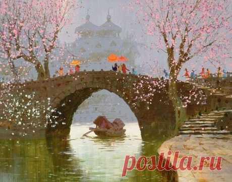 Работа художника Сян Минь Цзэн