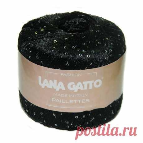 Пряжа Lana Gatto с пайетками LG ⁄ Шерсти Clock ⭐️ Пряжа Lana Gatto Paillettes LG для вязания. Купить пряжу в розницу в интернет-магазине недорого. Итальянская с пайетками. Состав пряжи 100% полиэстер.