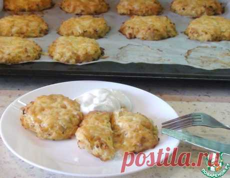 Куриные блинчики из картофеля