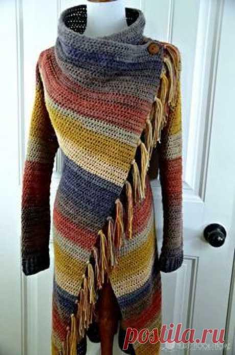 Blanket Cardigan Crochet pattern by Ashlea Konecny