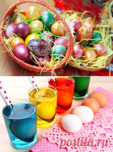 Cuando pintar los huevos a la Pascua 2016   las Recetas de la foto