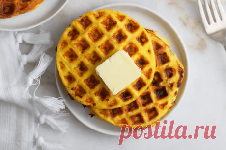 Яйца с сыром в вафельнице | О вкусной еде