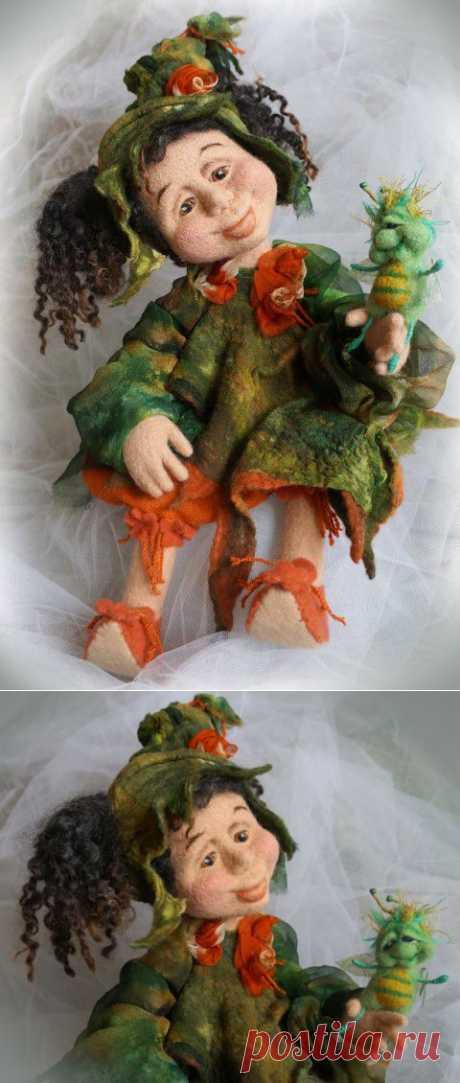 Валяные куклы
