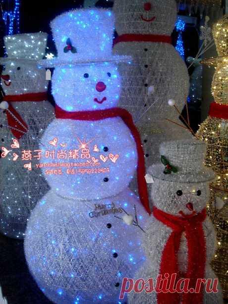 Три веселых снеговика размеры 1м, 1,6 м, 2,3 м Узнайте подробности пройдя в магазин по ссылке. При входе сделайте регистрацию.