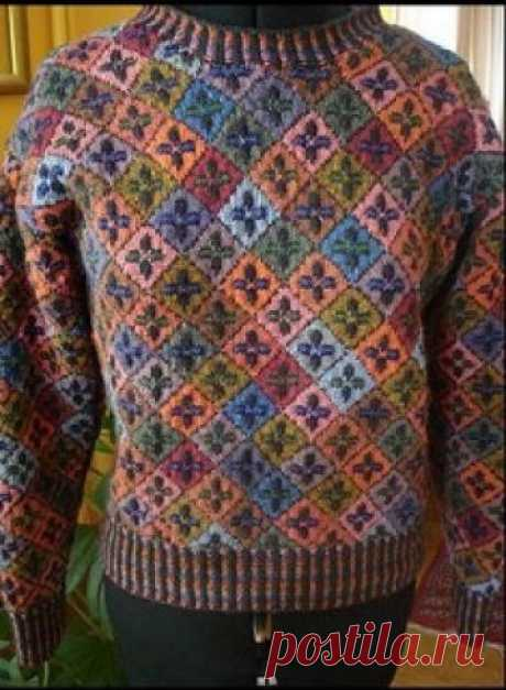 Kells Sweater pattern by Alice Starmore