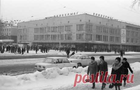 Ассортимент и цены в советском универмаге