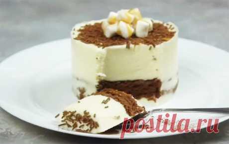 Диетическое муссовое пирожное
