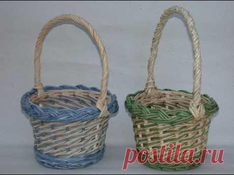Плетение корзин из газетных трубочек: мастер-классы и советы для рукодельниц