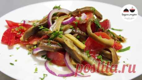 Салат из баклажанов на каждый день рецепт с фотографиями